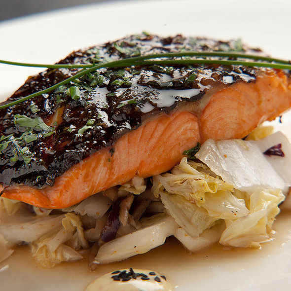 Barbecued Wild Salmon