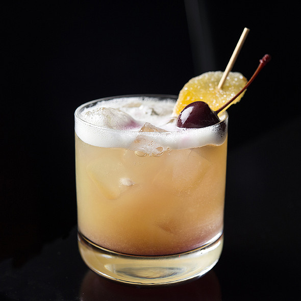 GINGERED WHISKY SOUR