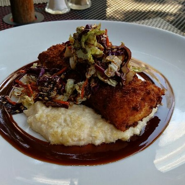 Fried Cod with Asian Slaw and Polenta - Marketplace, Louisville, KY