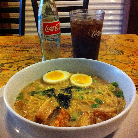 Crispy Pork Belly & Ramen @ Drunken Noodle