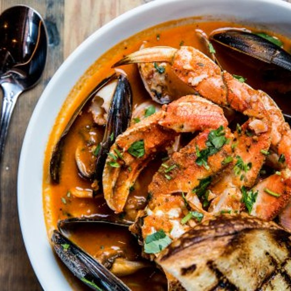 Cioppino @ Blue Mermaid Chowder House & Bar