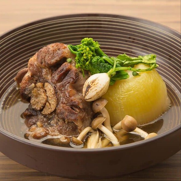 Stewed Oxtail And Onion - 金蔦, 港区, 東京都