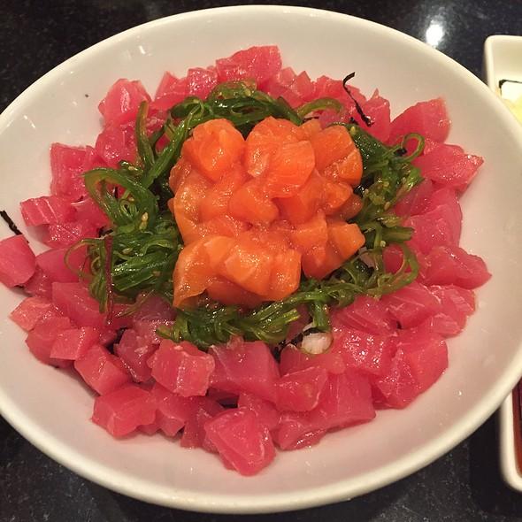 Salmon & Tuna Tartare @ Fuji Japanese Junceylon