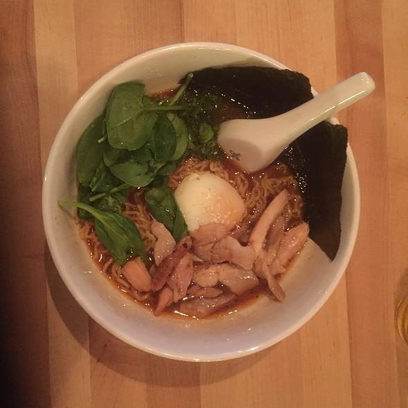 Spicy Miso Ramen @ Momofuku Noodle Bar
