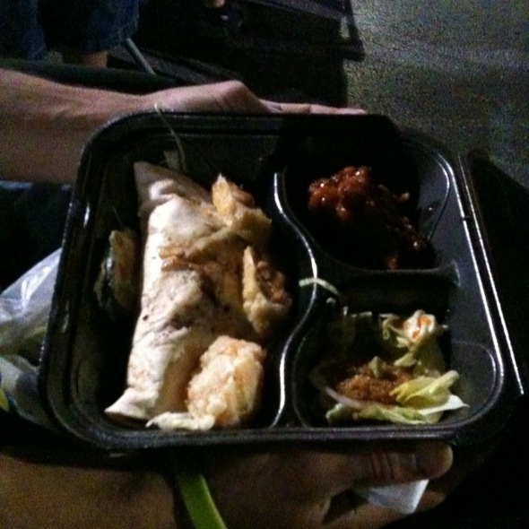 Chicken Taco Box @ Korean BBQ Taco Box
