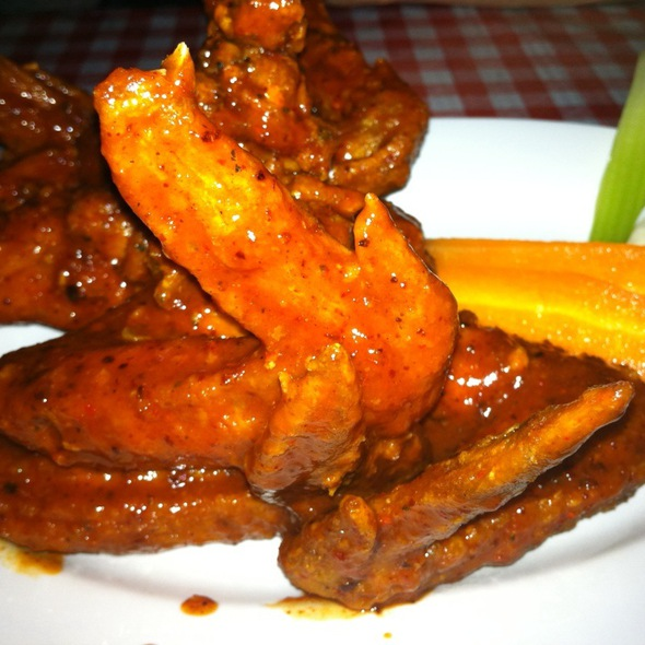 Volcano Chicken Wings  @ Buckaroo BBQ And Grill