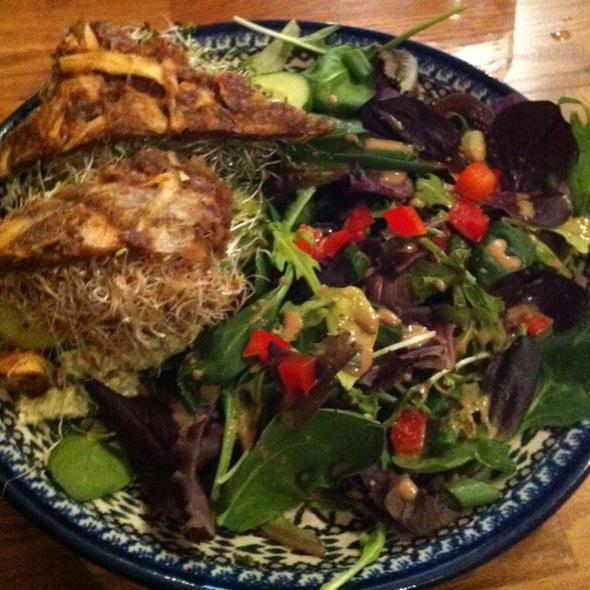 Mock Chicken Salad Sandwich @ Rawlicious Yorkville