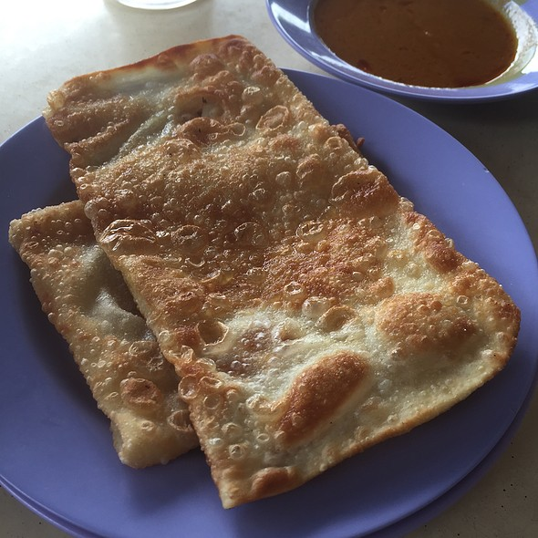 Garlic Prata & Cheese Prata