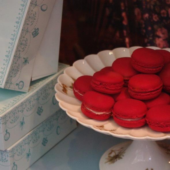 Raspberry Macaron @ La Belle Miette