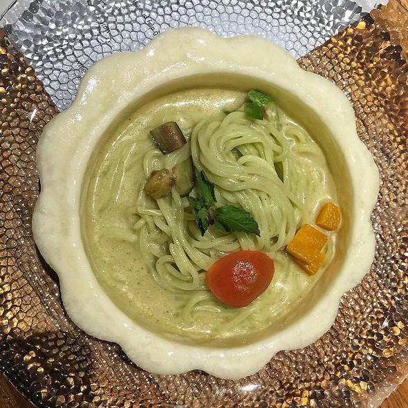 Kokonatsu Gori No Curry Ramen @ Mendokoro Ramenba
