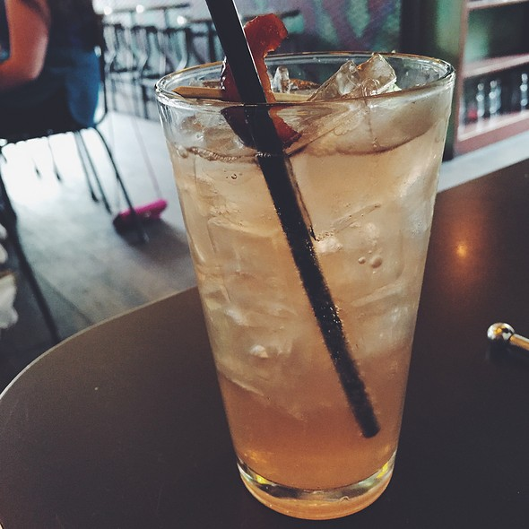 Plum Ginger Shrub Soda