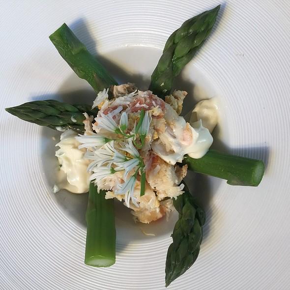 Crab & Asparagus Starter @ My Home, UK
