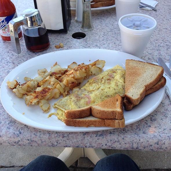 Shrimp omelette @ Simply Marie's Llc