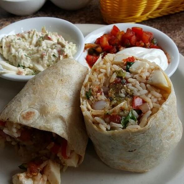 Shrimp And Scallop Burrito @ Tortilla Press