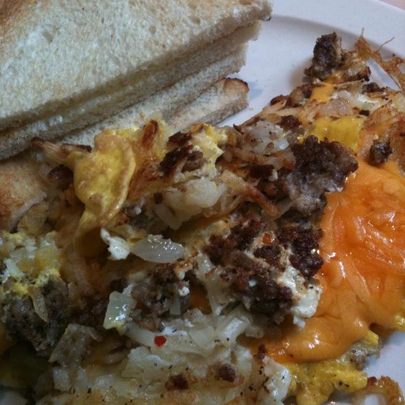 Half Garbage Plate @ Frank's Diner