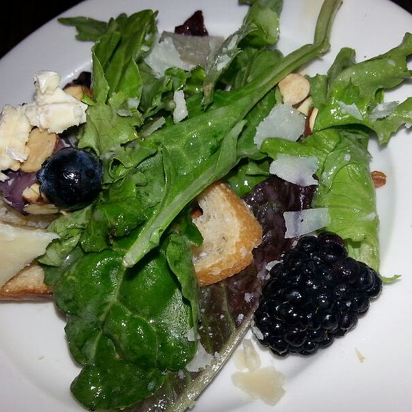 Crostini With Greens, Brie, Honey Almonds - Stella Modern Italian Cuisine, Oklahoma City, OK