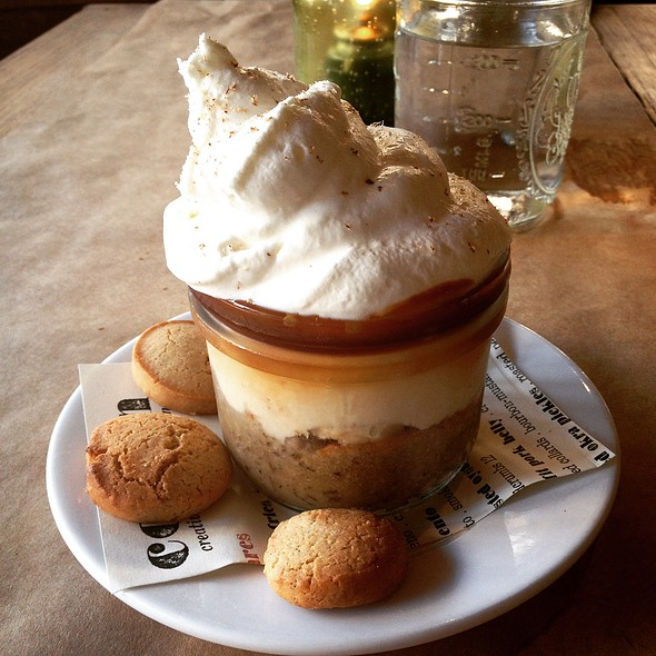 Banana & Butterscotch Pudding - Restaurant Cotton, Monroe, LA