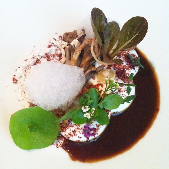 Wild Mushrooms @ Alinea Restaurant