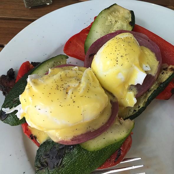 Eggs Benedict - Back Deck, Boston, MA