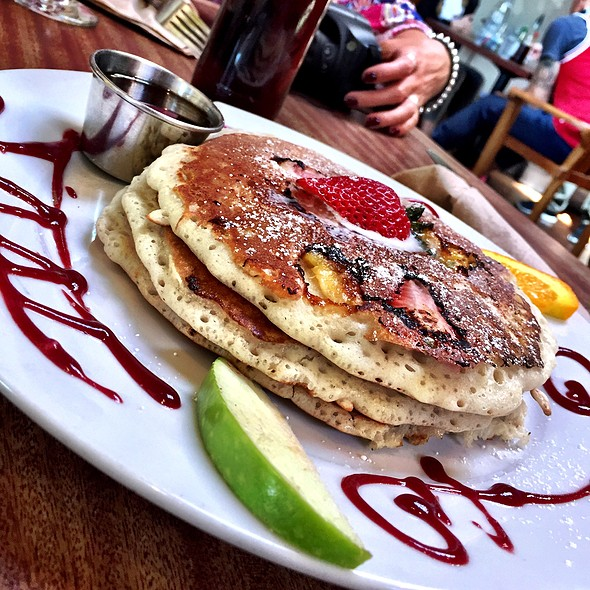 Strawberry Banana Pancakes - Isabel's Cantina, San Diego, CA