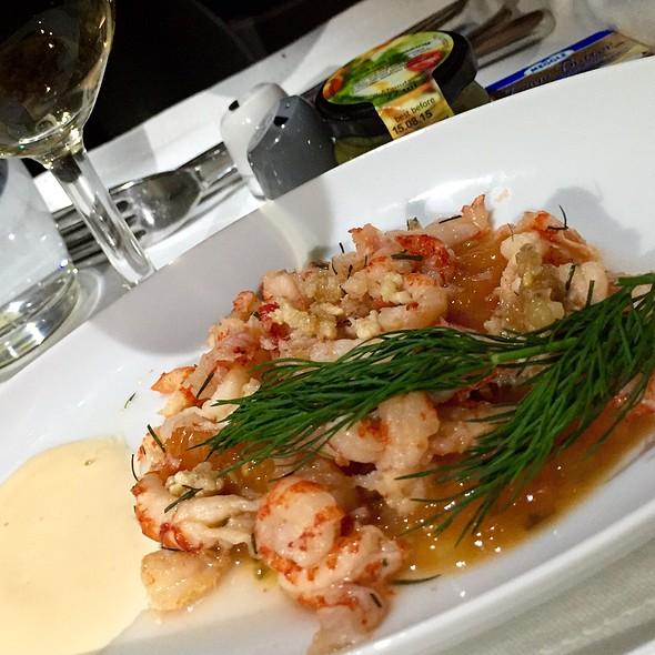 Icelandic Shrimp Cocktail @ Lufthansa Munich - Shanghai
