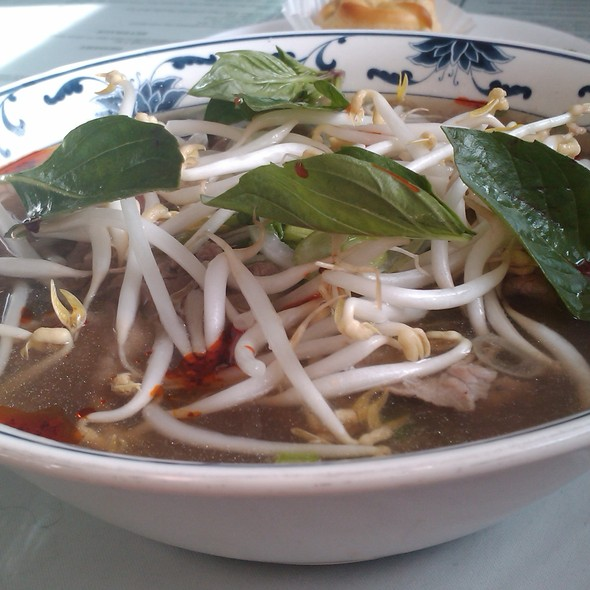 Beef Pho @ Pho Than Brothers