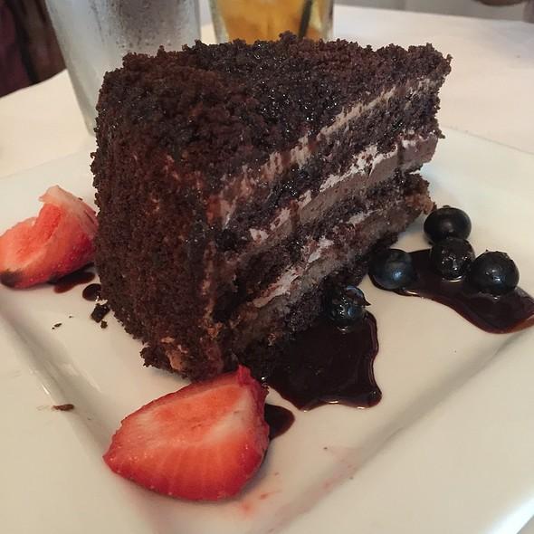 Triple Chocolate Cake - Trattoria Gianni, Chicago, IL