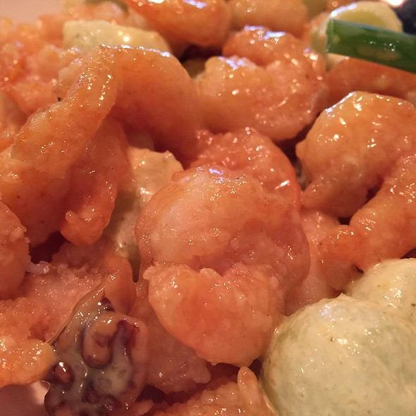 Walnut Shrimp With Melon @ P F Chang's China Bistro