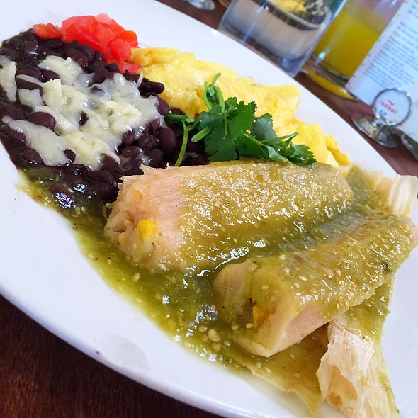 Breakfast Tamale - Isabel's Cantina, San Diego, CA