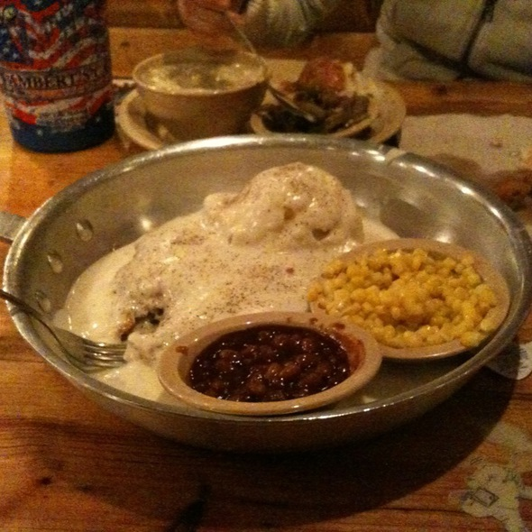 Chicken Fried Steak @ Lambert's Cafe