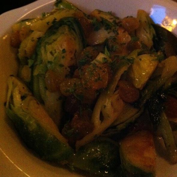 Braised Sprouts @ Paris Club