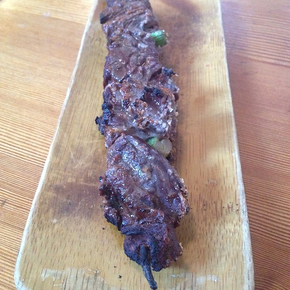 Hanger Steak Skewer