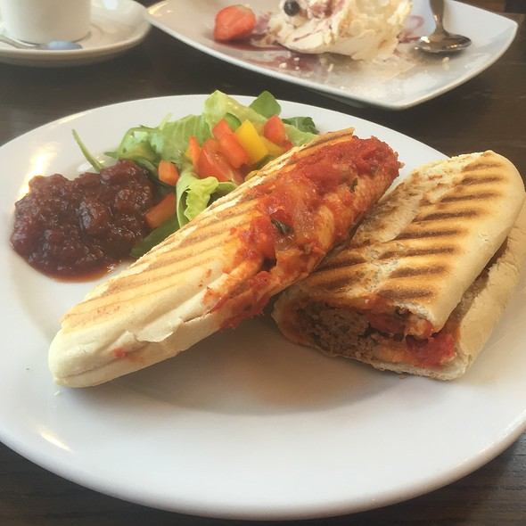Meatball Panini at The Country Kitchen