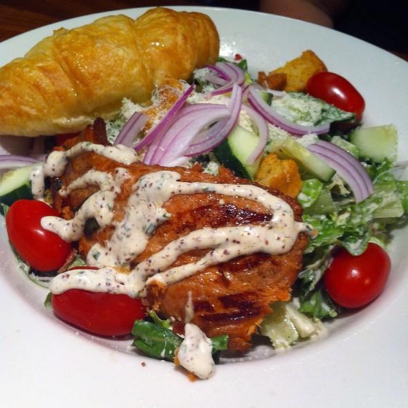 Caesar Salad with Smoked Salmon - Charleston's Restaurant - Castleton, Indianapolis, IN