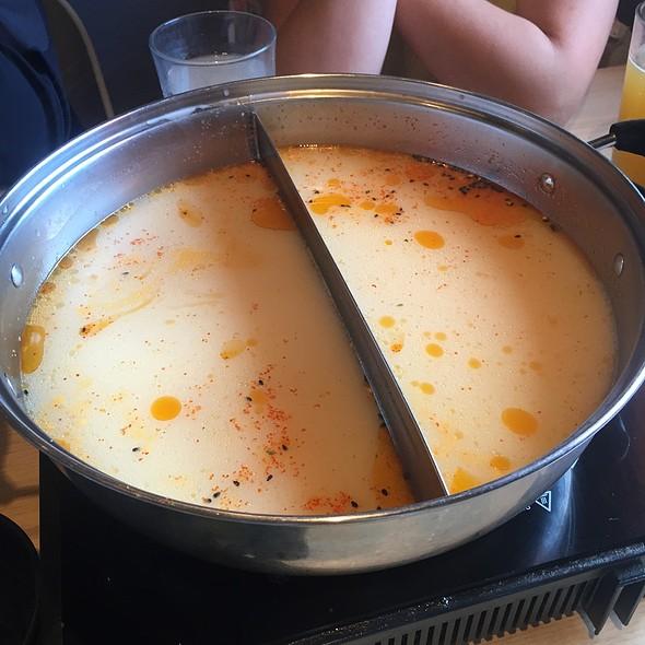 Spicy Tonkotsu Broth