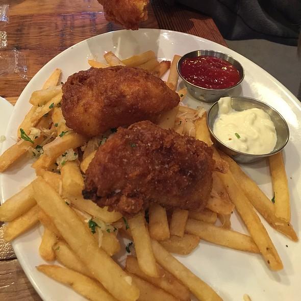 Fish and Chips - Blue Mermaid - Argonaut Hotel, San Francisco, CA