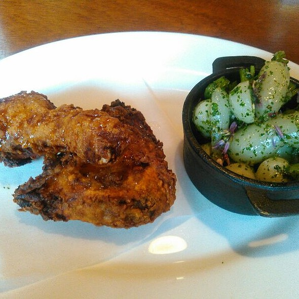 Spiced Fried Chicken @ Tavern Law