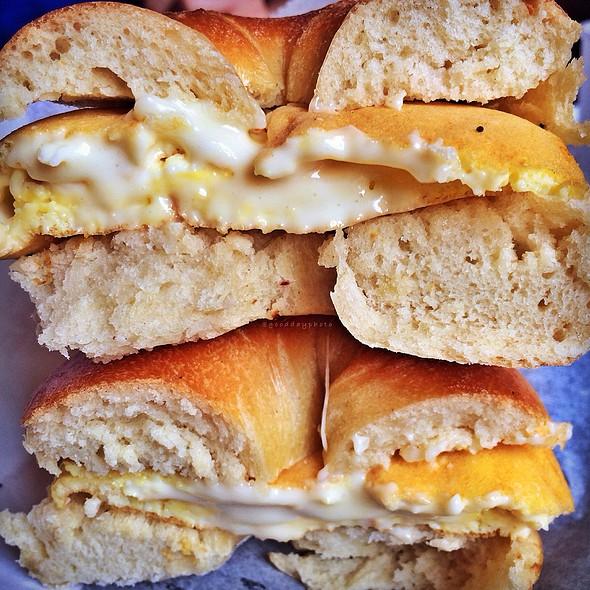 Breakfast Bagel @ Spread Bagelry