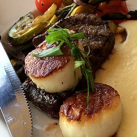 Filet And Scallops