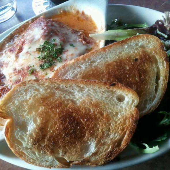 Chef's Special Lasagna - Montana Ale Works, Bozeman, MT