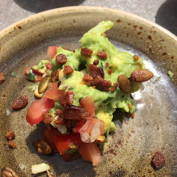 Guacamole With Pumpkin Nuts, Bacon, Jalepenos, Corn - Tii Gavo, a gathering place at Enchantment Resort, Sedona, AZ