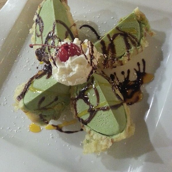 Fried Tempura Green Tea Ice Cream - Sushi Ichimoto, Hayward, CA