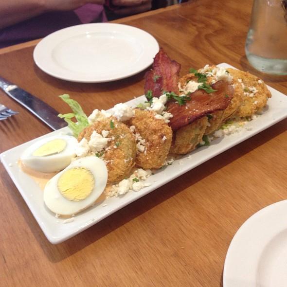 Fried Green Tomatoes - The Porch Restaurant & Bar - Sacramento, Sacramento, CA