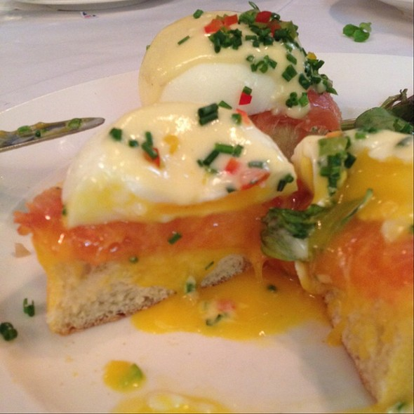 Smoked Salmon Eggs Benedict - Sarabeth's Central Park South, New York, NY