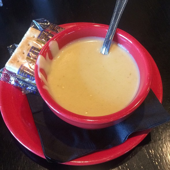 Cream of Asparagus Soup @ Mike's Grillhouse