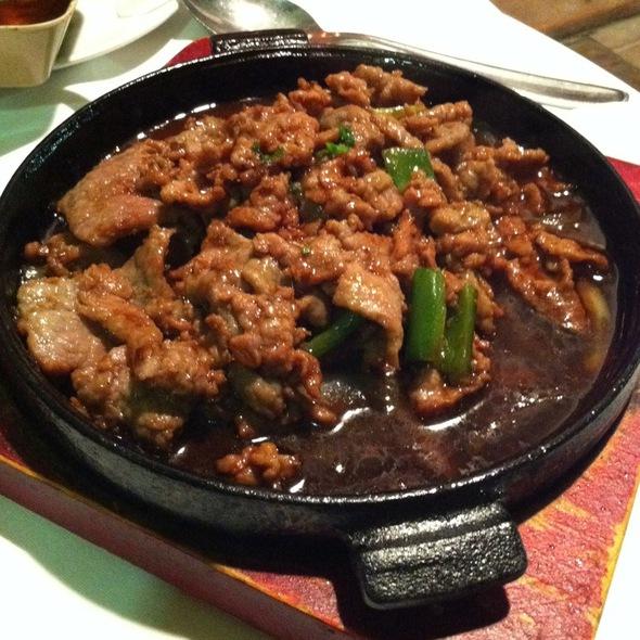Ternera Plancha @ Restaurante Taiwanés L'Escala