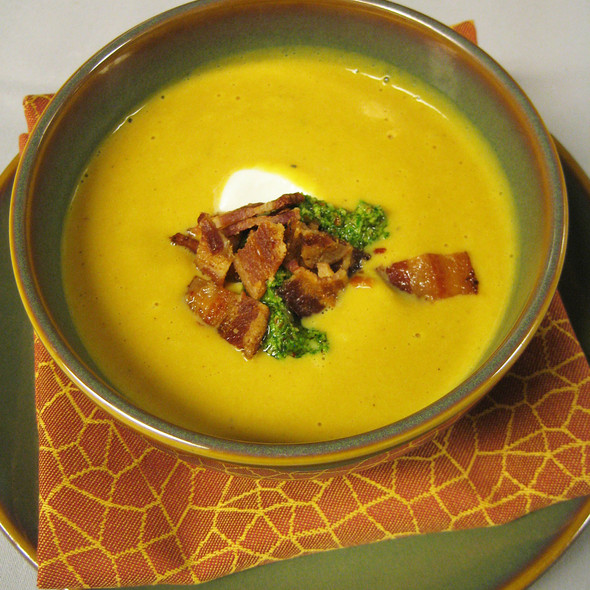 Butternut Squash Soup @ SWB @ the Hyatt Regency Austin