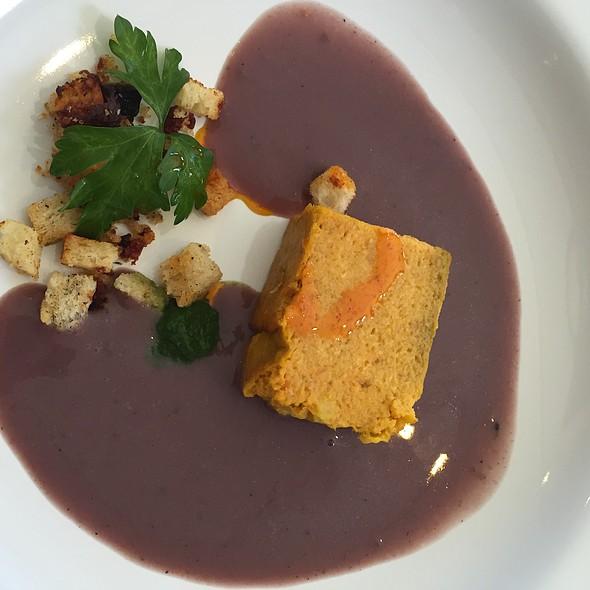 Terrina De Zanahoria Con Crema De Bonarda