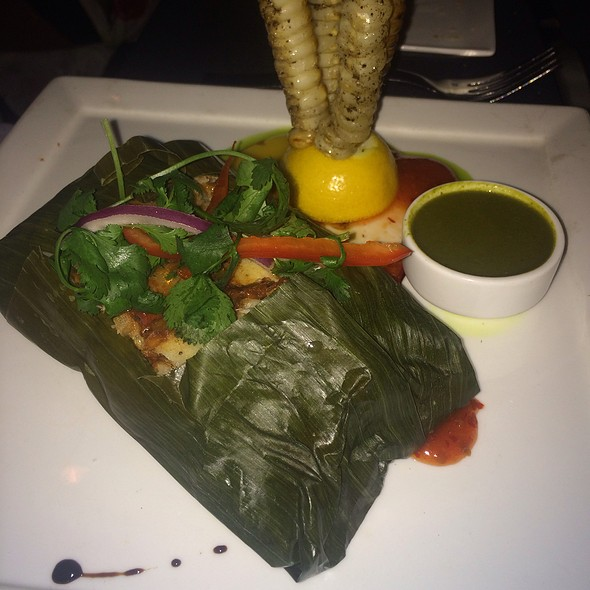 Cod Wrapped In Plantain Leaves - Selva Grill, Sarasota, FL