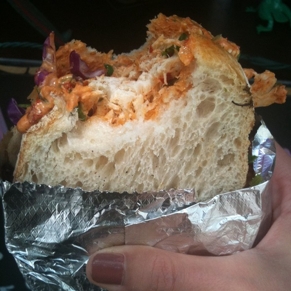 Chipotle Adobo Sandwich @ The Jalopy